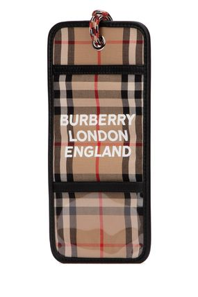Burberry スマホケース・テックアクセサリー 関税込◆Embroidered cotton phone case(4)