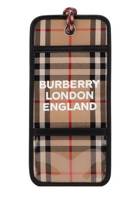 Burberry スマホケース・テックアクセサリー 関税込◆Embroidered cotton phone case(5)