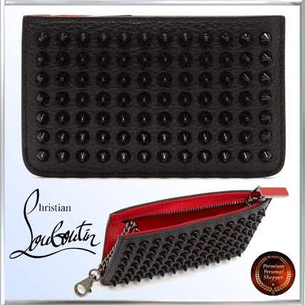 SALE!! ∞Christian Louboutin∞Panettoneスパイク レザーwallet