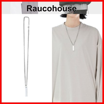 Raucohouse ネックレス・チョーカー ★韓国の人気★【Raucohouse】★BOLD STICK CHAIN NECKLACE★