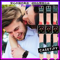 LA発!☆AppleWatchバンド★ペアにも★Casetify☆Coral Reef