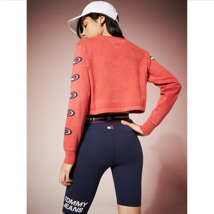 Tommy Hilfiger Tシャツ・カットソー TOMMY JEANS オーバルロゴロングスリーブTシャツ すぐ届く(3)