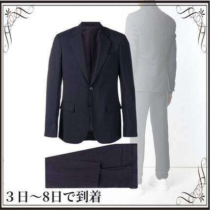 VERSACE スーツ 関税込◆pinstriped two-piece suit