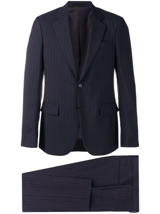 VERSACE スーツ 関税込◆pinstriped two-piece suit(4)