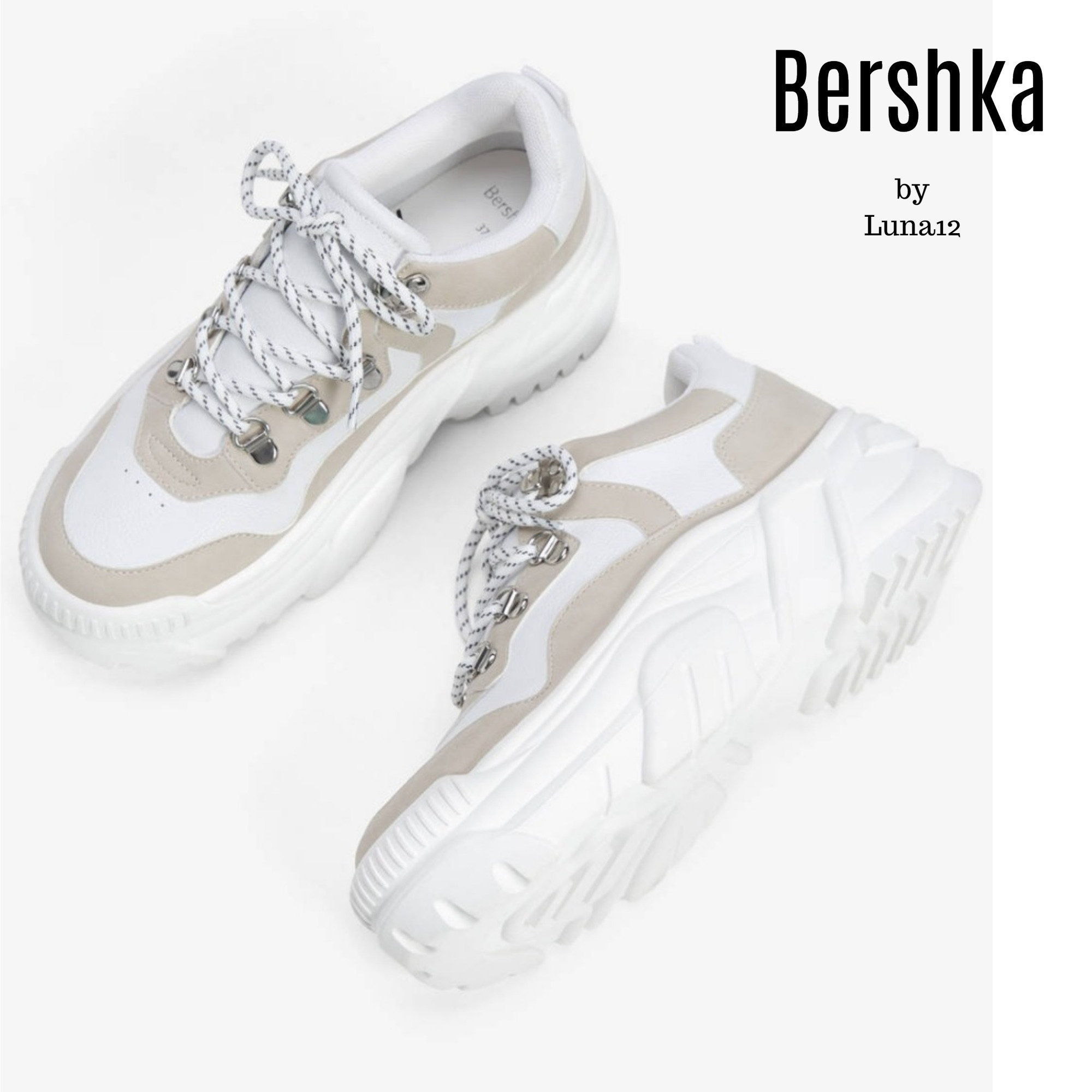 where to buy online store special sales Shop Bershka Platform Casual Style Street Style Platform & Wedge ...