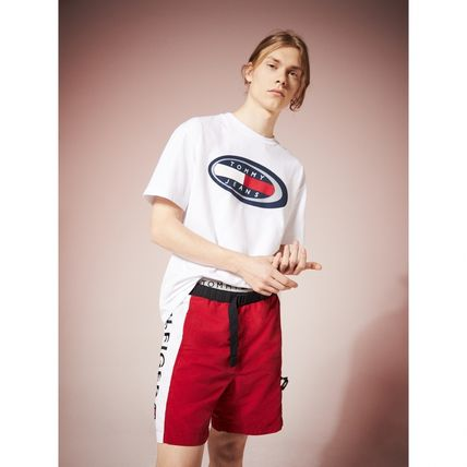 Tommy Hilfiger Tシャツ・カットソー TOMMY JEANS オーバルロゴTシャツ 関税なし 国内買付 すぐ届く(2)
