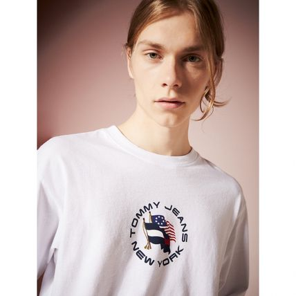 Tommy Hilfiger Tシャツ・カットソー TOMMY JEANS フラッグロングスリーブTシャツ 国内買付 すぐ届く(4)