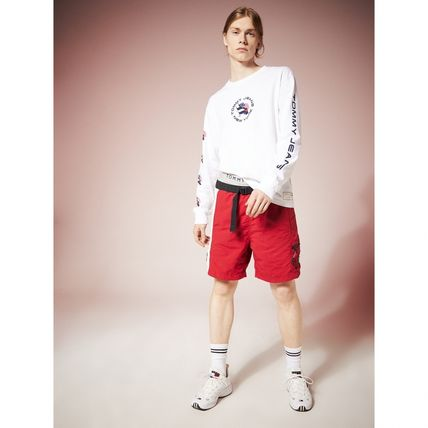 Tommy Hilfiger Tシャツ・カットソー TOMMY JEANS フラッグロングスリーブTシャツ 国内買付 すぐ届く(6)