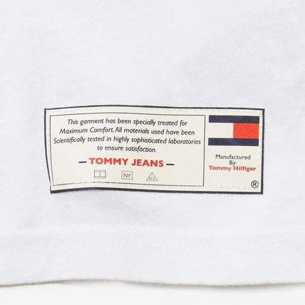 Tommy Hilfiger Tシャツ・カットソー TOMMY JEANS フラッグロングスリーブTシャツ 国内買付 すぐ届く(7)