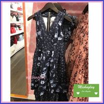 【kate spade】上品なお花柄★prairie rose fit and flare dress