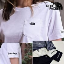 【THE NORTH FACE】☆Have a nice climb☆ポケット Tシャツ