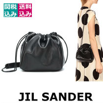 希少・関税込☆JIL SANDER ☆Drawstring Small crossbody bag