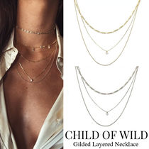 Child of Wild(チャイルド オブ ワイルド) ネックレス・ペンダント CHILD OF WILD★Gilded Layered Necklace レイヤード ネックレス