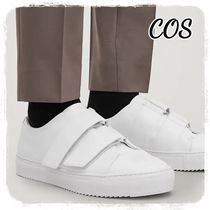 COS(コス) スニーカー 【COS】WRAP OVER LEATHER SNEAKERS ラップオーバースニーカー