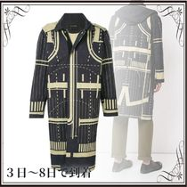 関税込◆graphic pattern coat