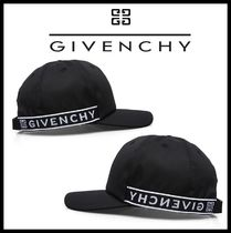 ★関税込/追跡発送 GIVENCHY★4G BALL CAP★BLACK★