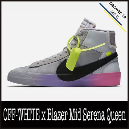 ★【NIKE】US9.5 27.5cm OFF-WHITE x Blazer Mid Serena Queen