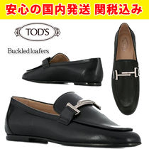 TOD'S(トッズ) ローファー・オックスフォード 関税送料込国内発送★TOD'S★Buckled loafers ローファー