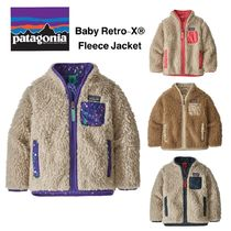 大人気!Patagonia Baby Retro-X Fleece Jacket