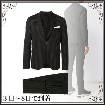 NeIL Barrett スーツ 関税込◆pinstriped two-piece formal suit