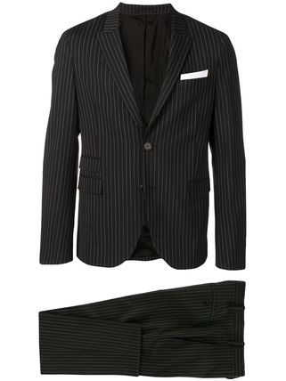 NeIL Barrett スーツ 関税込◆pinstriped two-piece formal suit(4)