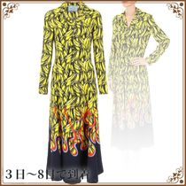 関税込◆Prada Bananas And Flames Dress