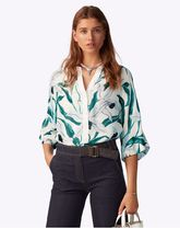 Tory Burch BUTTON-FRONT TOP