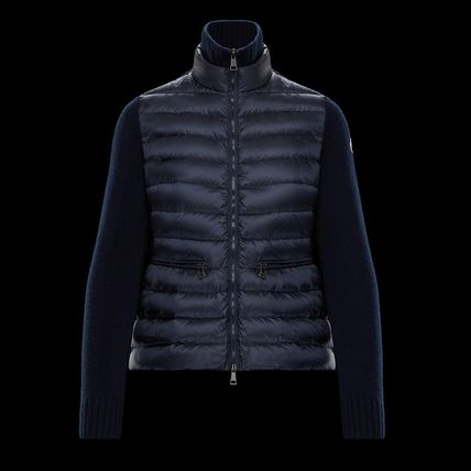 MONCLER アウターその他 【国内発送】MONCLER Lined jumper キルティングジャンパー