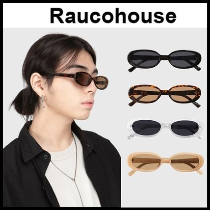 Raucohouse サングラス ☆RAUCOHOUSE☆ サングラス RETRO OVAL SUNGLASSES 4色