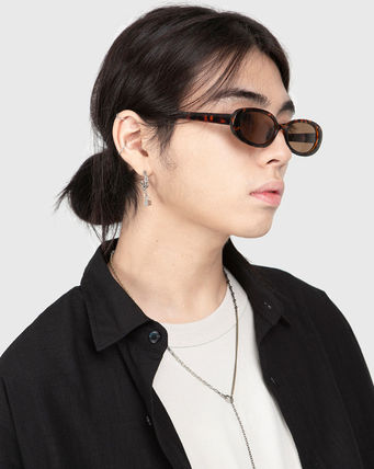 Raucohouse サングラス ☆RAUCOHOUSE☆ サングラス RETRO OVAL SUNGLASSES 4色(2)