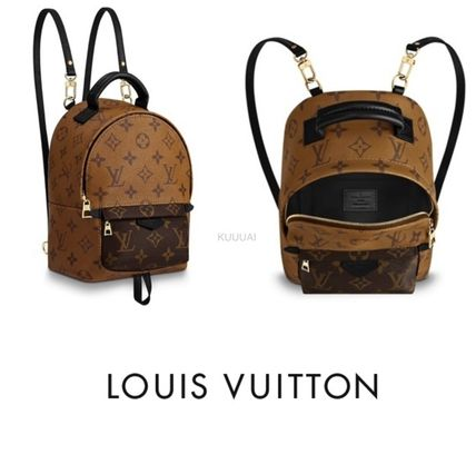 Louis Vuitton バックパック・リュック 直営店 ルイヴィトン パームスプリングス バックパック MINI PALM SPRINGS