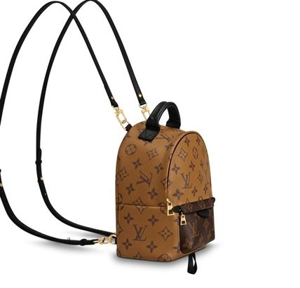 Louis Vuitton バックパック・リュック 直営店 ルイヴィトン パームスプリングス バックパック MINI PALM SPRINGS(3)