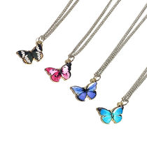 ★WANDERING YOUTH★韓国 蝶 ネックレスButterfly necklace 4色