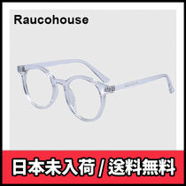 【Raucohouse】ROUND CLEAR FRAME GLASSES