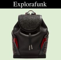 Christian Louboutin Explorafunk Backpack レザーリュック