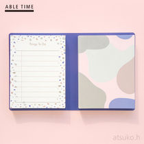 ABLE TIME★メモパッド デュアル(ストーン) /追跡送料込