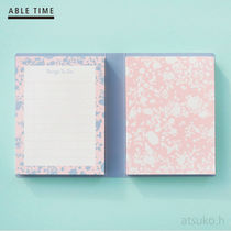 ABLE TIME★メモパッド デュアル(マーブリング) /追跡送料込