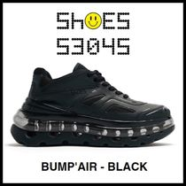 SHOES 53045 メンズ スニーカー BUMP'AIR BLACK