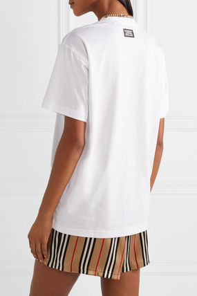 Burberry Tシャツ・カットソー ★関税負担★BURBERRY★OVERSIZED JERSEY T-SHIRT(4)