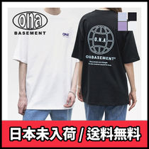 ona(オーエヌエー) Tシャツ・カットソー 【ONA】BASEMENT EARTH SHORT SLEEVE T-SHIRTS
