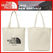☆韓国の人気☆【THE NORTH FACE】☆COTTON TOTE☆IVORY☆