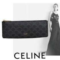 新作【CELINE】ペンケース(PENCIL CASE IN TRIOMPHE CANVAS)