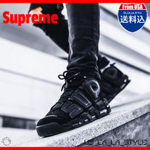 ★追跡有り★Supreme x Air More Uptempo 'Black'★
