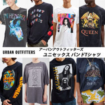 URBAN OUTFITTERS★ユニセックスバンドTシャツ|Aaliyah, QUEEN