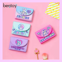 Bentoy(ベントイ) 折りたたみ財布 [BENTOY] MILK CANDYGIRL ILLUSTRATION WALLET★ 大人氣 3色