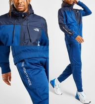 The North Face ロゴプリント セットアップ 青色 関税送料無料 K