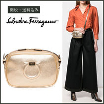 【Salvatore Ferragamo】Gancini Camera Bag クロスボディバッグ