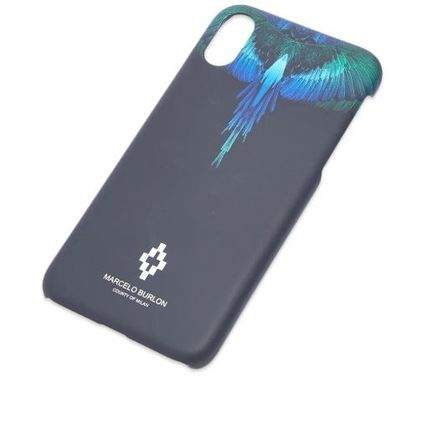 Marcelo Burlon スマホケース・テックアクセサリー NEW▼Marcelo Burlon▼Blue Wing iPhoneX/X MAXケース(4)
