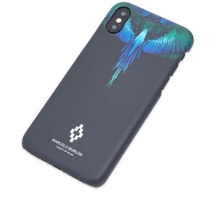 Marcelo Burlon スマホケース・テックアクセサリー NEW▼Marcelo Burlon▼Blue Wing iPhoneX/X MAXケース(5)