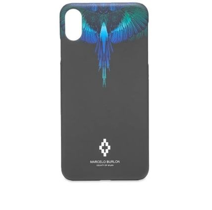 Marcelo Burlon スマホケース・テックアクセサリー NEW▼Marcelo Burlon▼Blue Wing iPhoneX/X MAXケース(8)